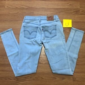 Levi's women's 535 Super Skinny Jeans size 26